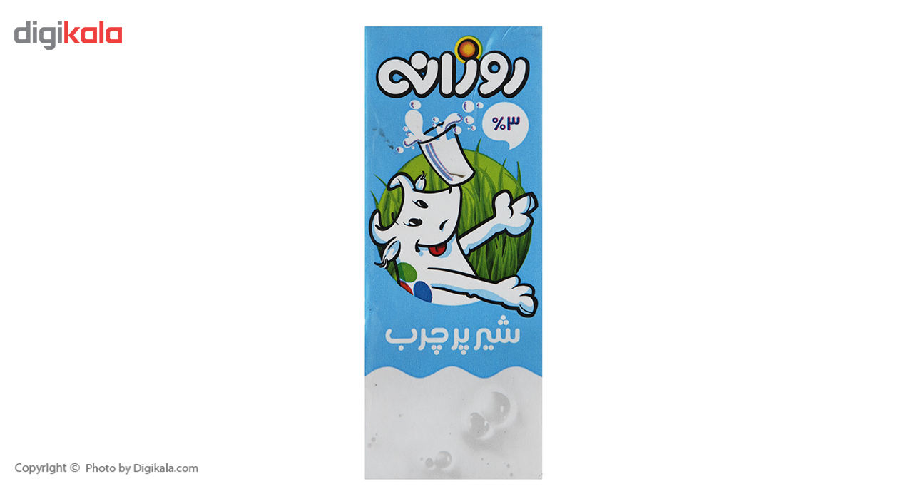 شیر پر چرب روزانه حجم 0.2 لیتر main 1 2
