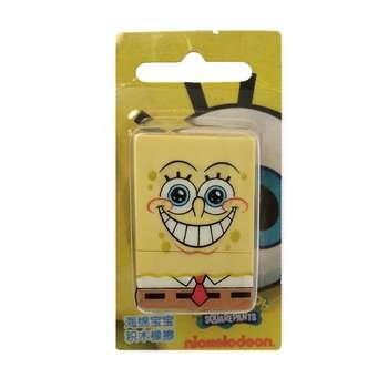 پاک کن 3 تکه مدل باب اسفنجی Smile