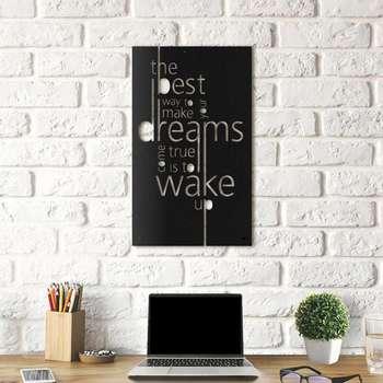 تابلو دکوراتیو هوم لوکس طرح Dreams