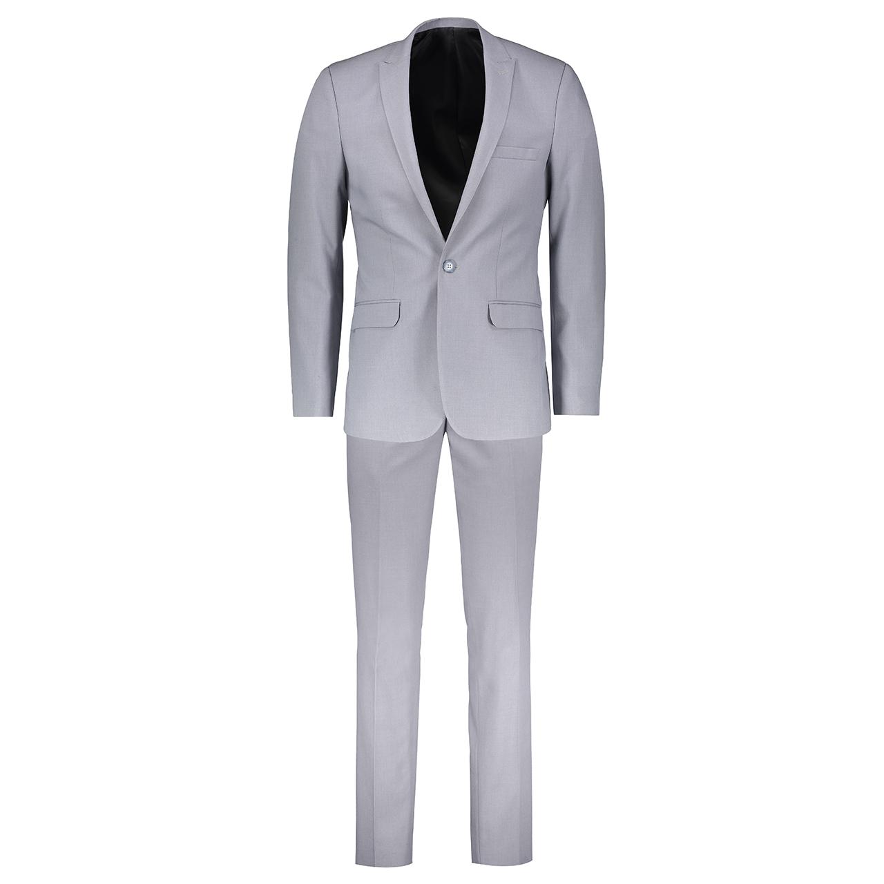 کت و شلوار مردانه مدل Classic Gray2