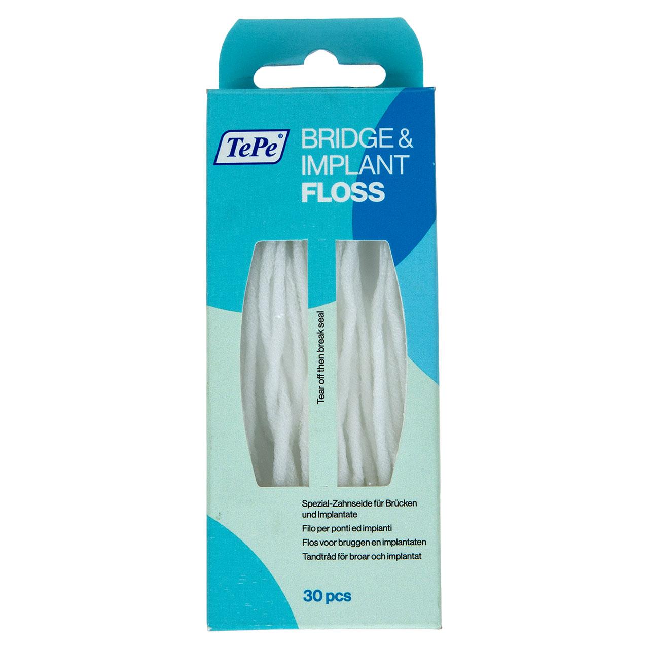 نخ دندان تپه مدل Bridge And Implant