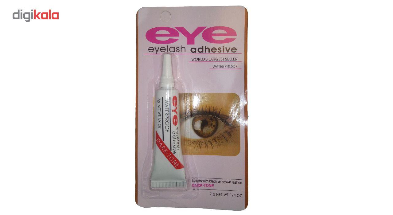 چسب مژه ضد آب eye مدل eyelash adhesive حجم 7 گرم main 1 2