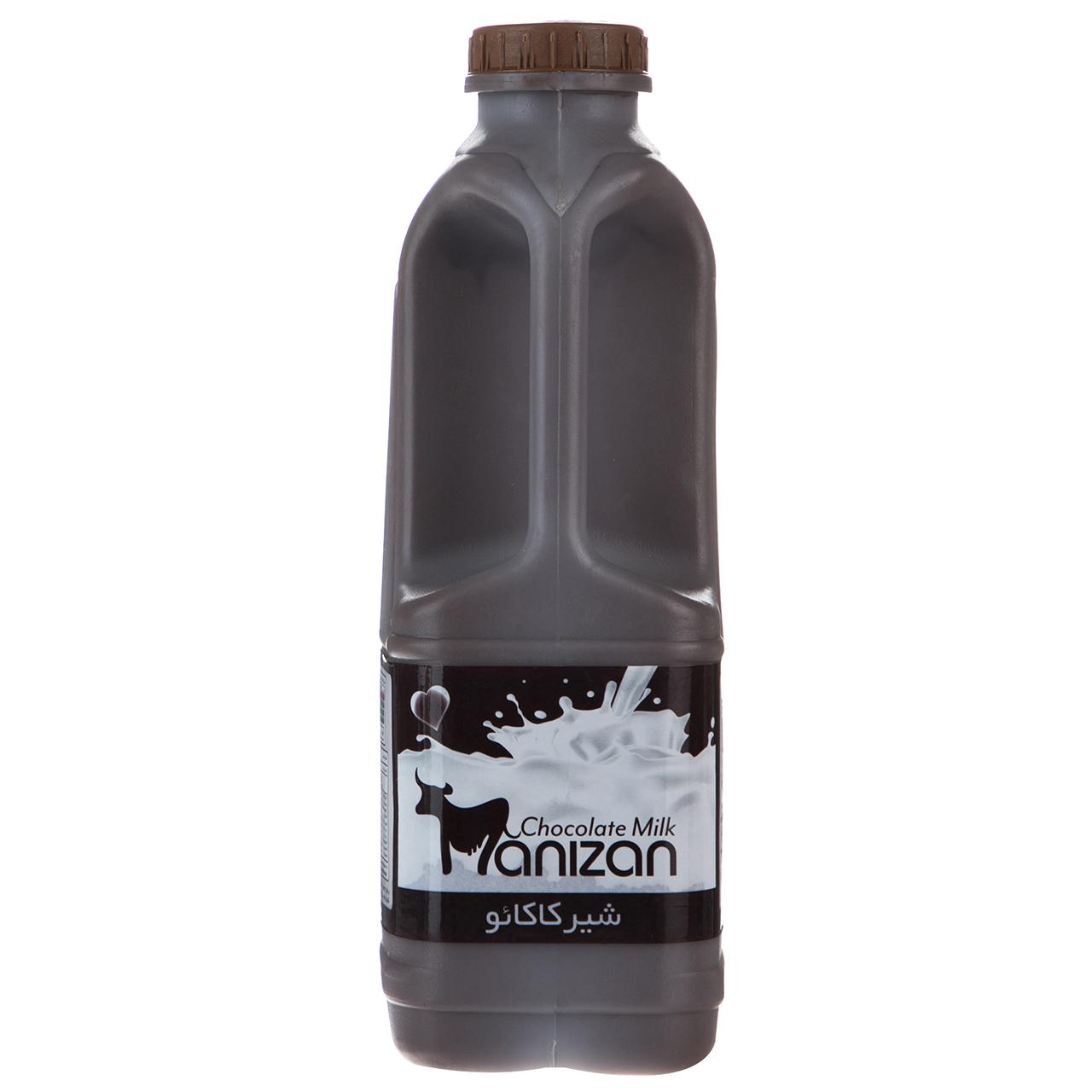 شیر کاکائو کم چرب مانیزان مقدار 0.95 لیتر