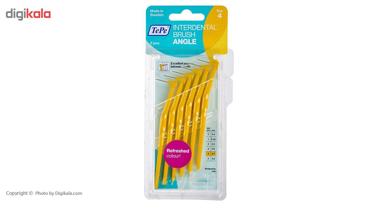 مسواک بین دندانی انگل سایز 4 بسته 6 عددی main 1 1
