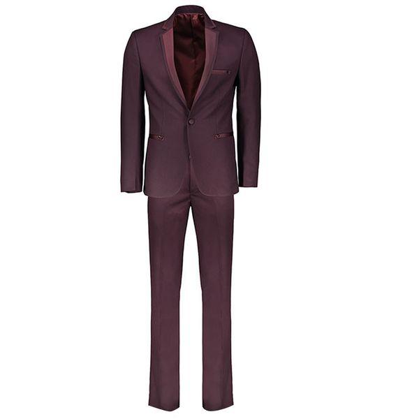 کت و شلوار مردانه مدل casual purple