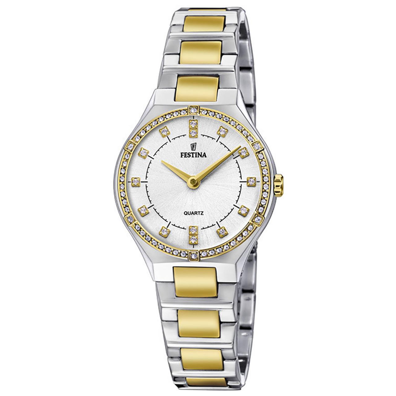 ساعت مچی عقربه ای زنانه فستینا مدل F20226/1 9