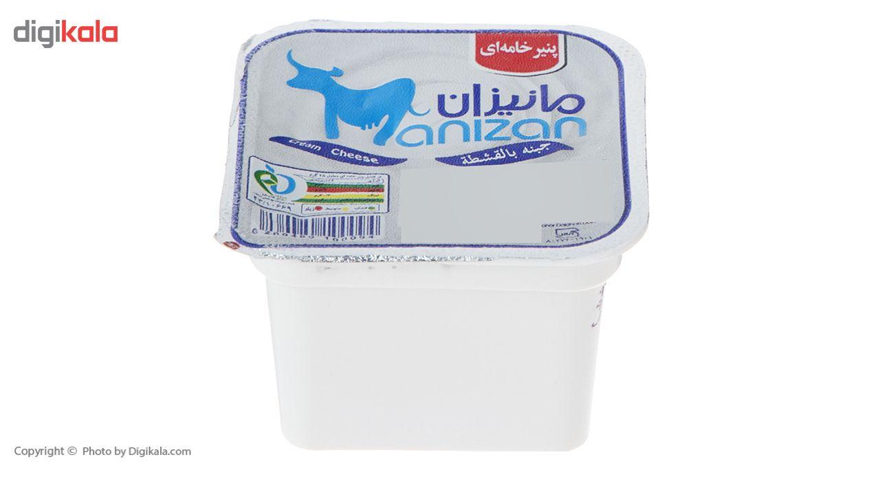 پنیر خامه ای مانیزان مقدار 100 گرم main 1 3