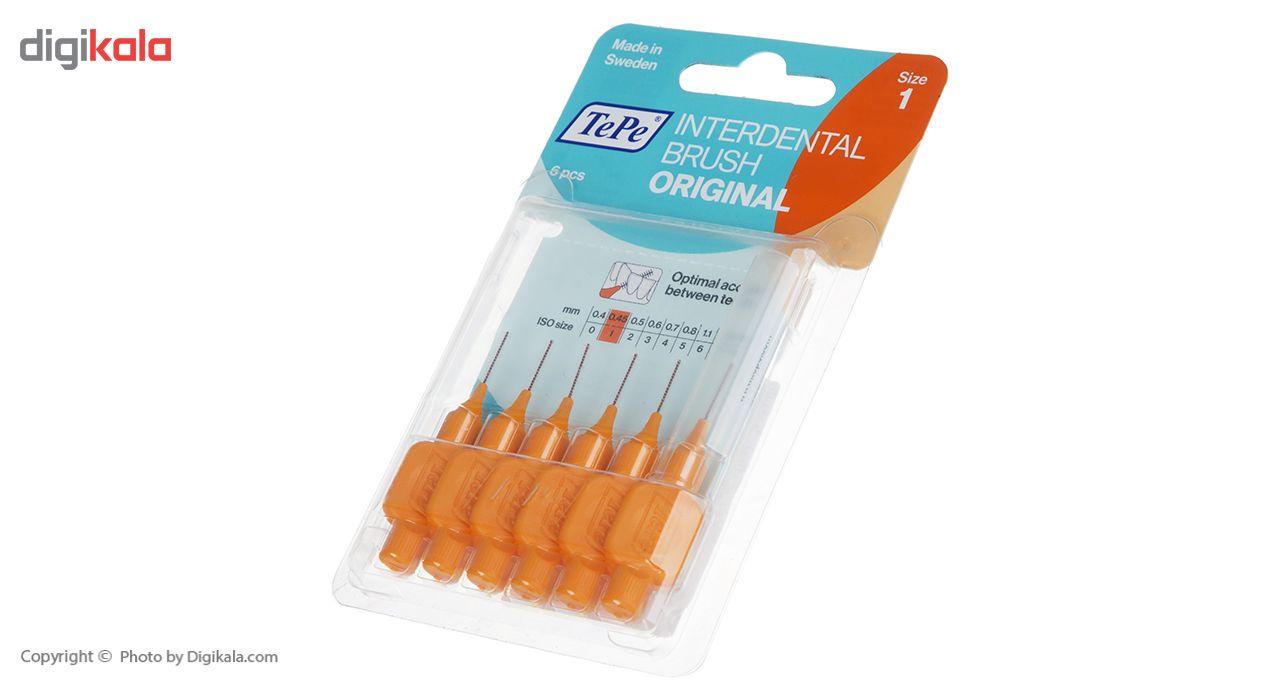 مسواک بین دندانی دسته دار تپه مدل Angle سایز 1 main 1 3