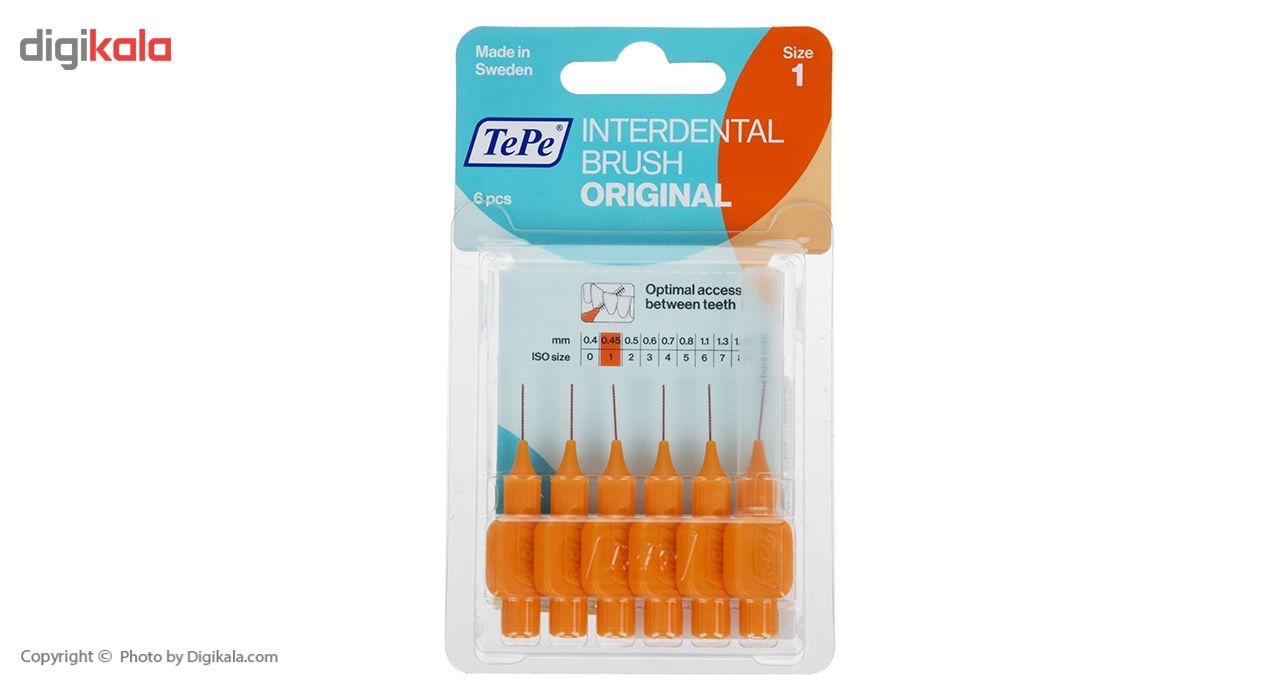 مسواک بین دندانی تپه مدل Orginal سایز 1 main 1 3