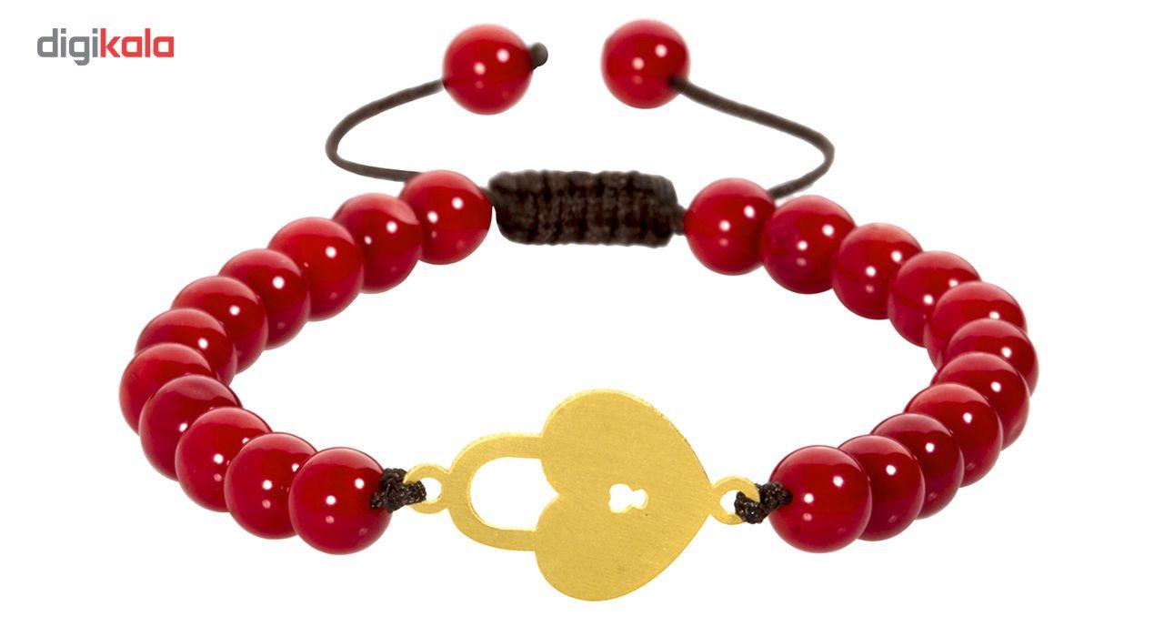 دستبند طلا 18 عیار اقلیمه کد DT238