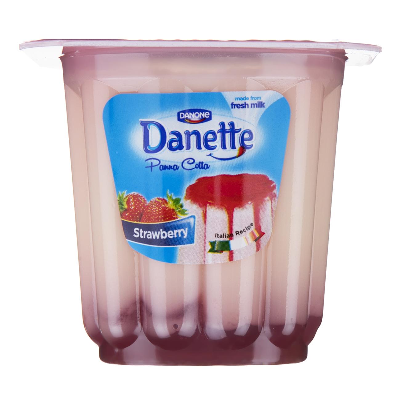 دسر پاناکوتا توت فرنگی دنت مقدار 100 گرم
