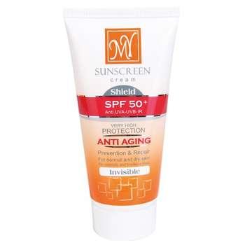 کرم ضد آفتاب ضد چروک شیلد مای SPF50+