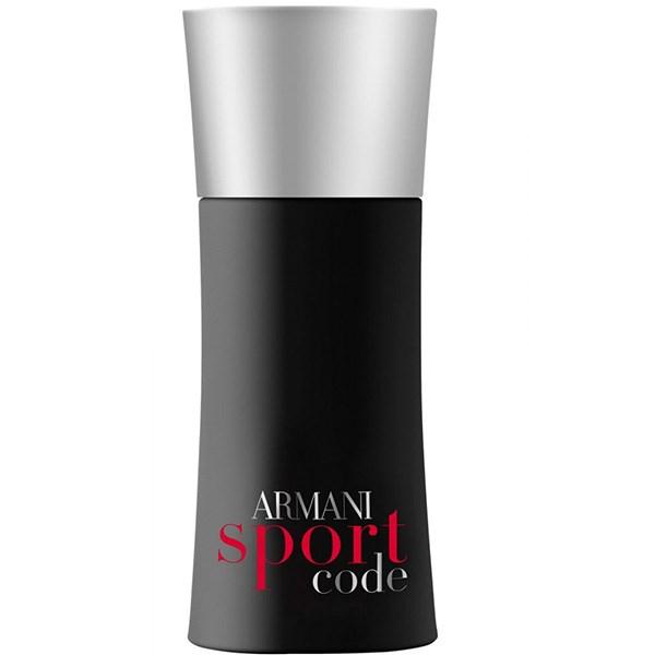 ادو تویلت مردانه جورجیو آرمانی مدل Armani Code Sport حجم 75 میلی لیتر