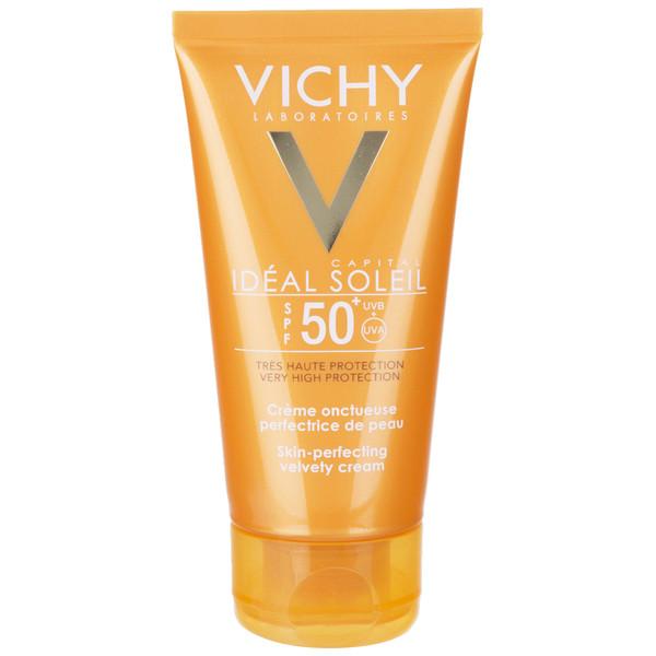 کرم ضد آفتاب ویشی سری Ideal Soleil مدل Velvety حجم 50 میلی لیتر