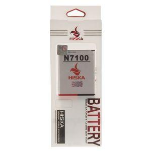 باتری هیسکا با ظرفیت 2600 میلی آمپر ساعت مناسب برای گوشی موبایل سامسونگ گلکسی نوت 2