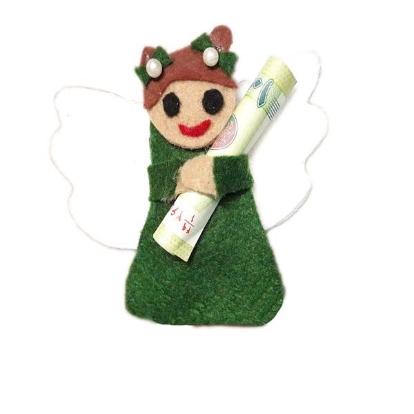 عروسک نمدی عید غدیر مدل فرشته بسته 5 عددی