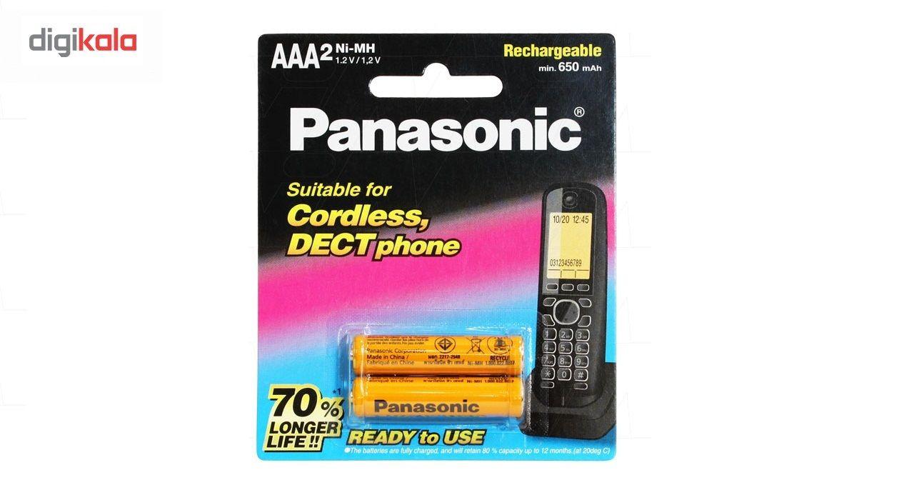 باتری نیم قلم شارژی AAA تلفن بی سیم مدل BK-4LDAW/2BT main 1 1