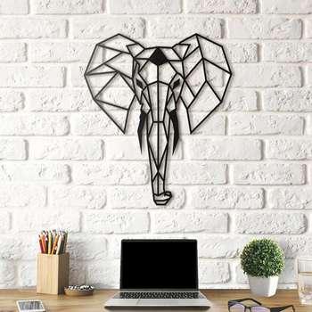 استیکر چوبی هوم لوکس طرح فیل