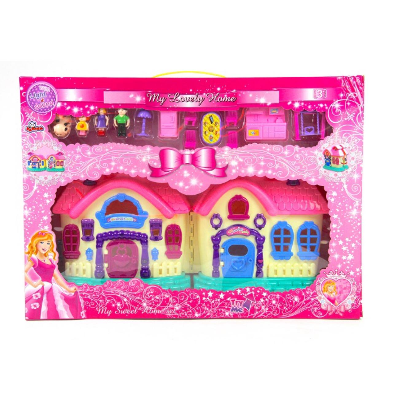 اسباب بازی خانه عروسک مدل My lovely home