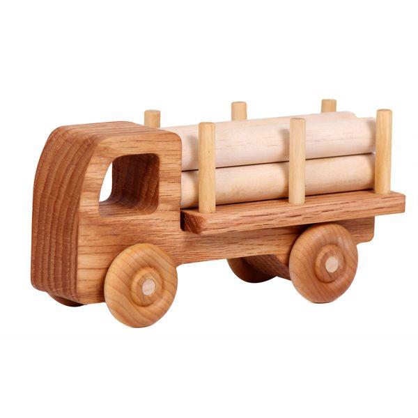 ماشین اسباب بازی چوبی مدل Timber Truck