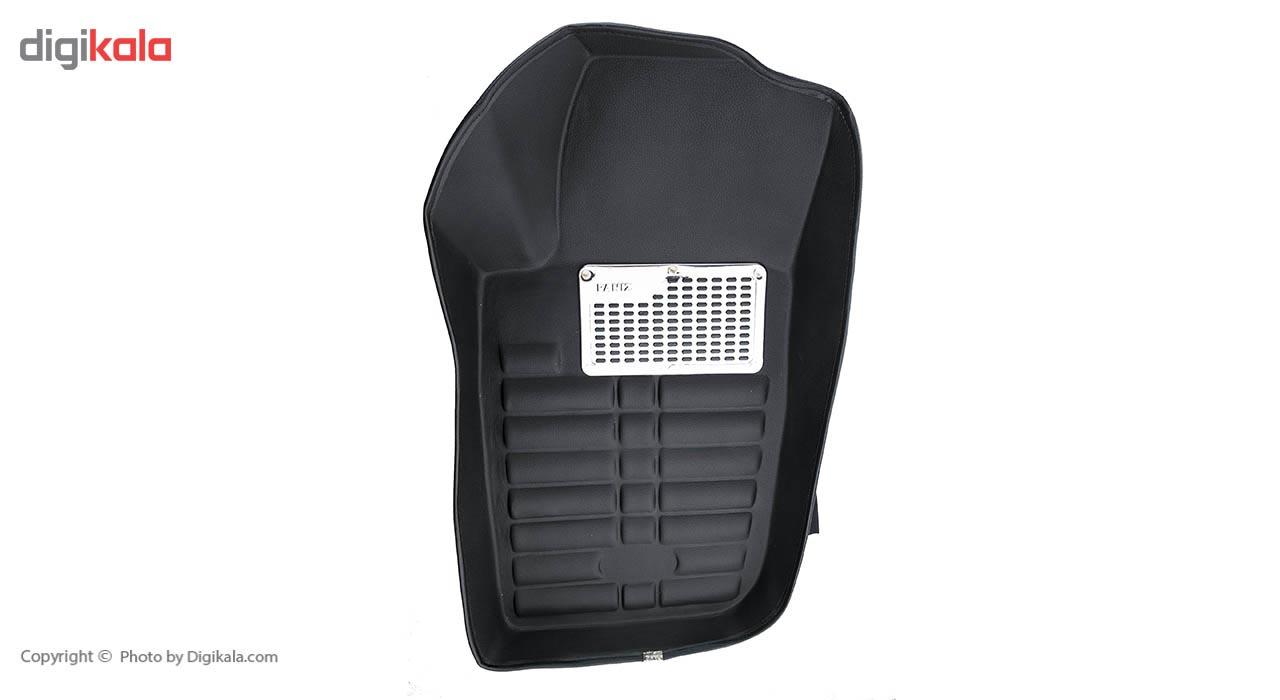 خرید اینترنتی کفپوش سه بعدی خودرو پانیذ مدل 07 مناسب برای پژو 207 اورجینال