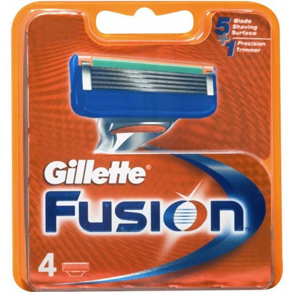 تیغ یدک ژیلت مدل Fusion بسته 4 عددی