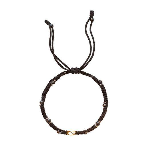 دستبند طلا 18 عیار گرامی گالری مدل B435