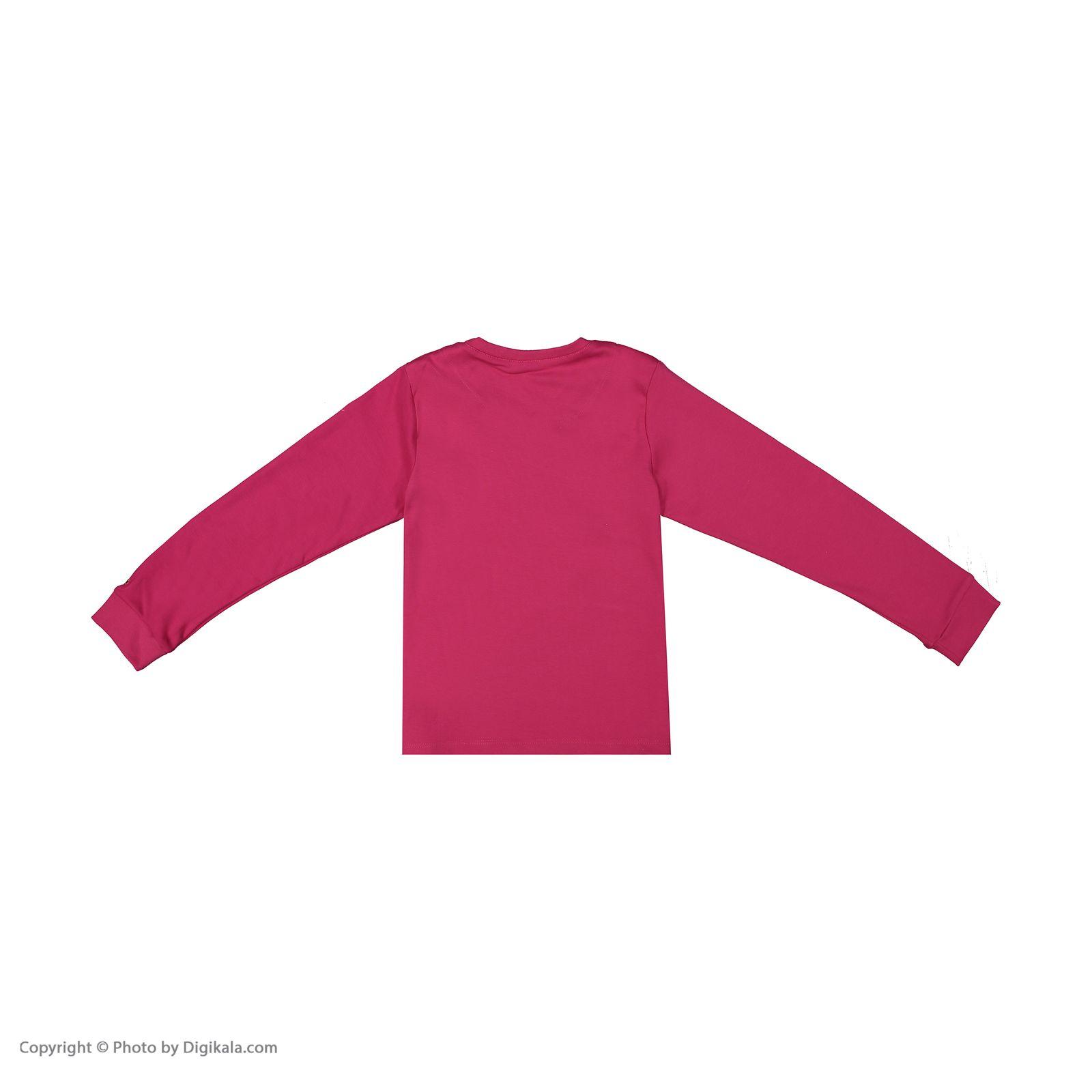 ست تی شرت و شلوار دخترانه مادر مدل 301-66 main 1 3