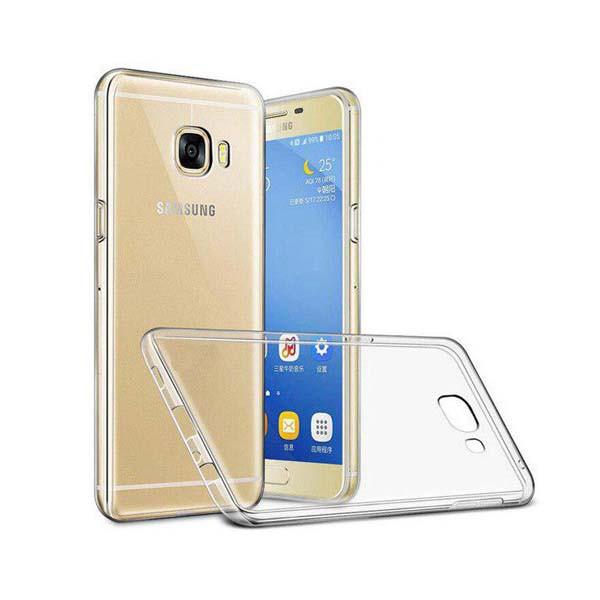 کاور ژله ای مدل Clear مناسب برای گوشی موبایل سامسونگ گلکسی A720) A7 2017)
