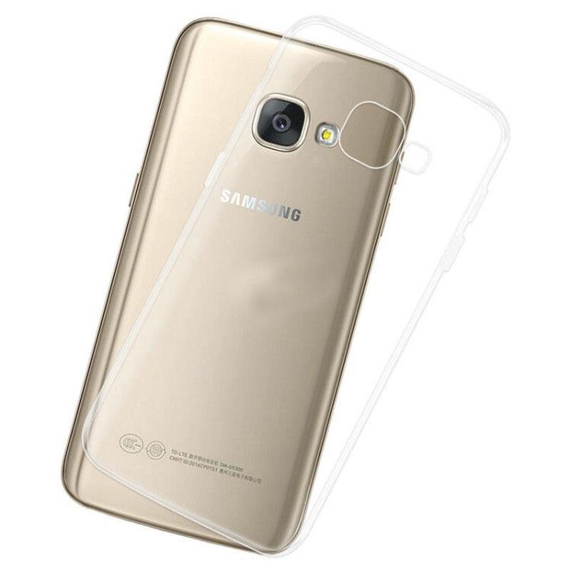 کاور ژله ای مدل Clear مناسب برای گوشی موبایل سامسونگ گلکسی A520) A5 2017)