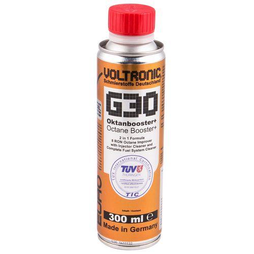 اکتان بوستر سوخت و انژکتورشوی ولترونیک مدل G30 حجم 300 میلی لیتر
