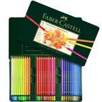 مداد رنگی 60 رنگ فابر-کاستل مدل Polychromos thumb
