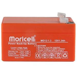 باتری یو پی اس 12 ولت 1.3 آمپر ساعت موریسل مدل Mo12-1.3