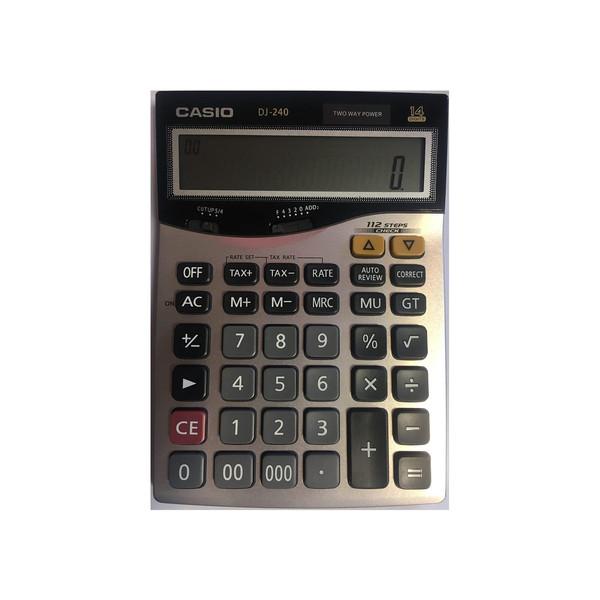 ماشین حساب کاسیو مدل DJ-240