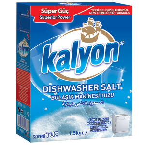 نمک ماشین ظرفشویی کالیون مدل Dishwasher Salt حجم 1500 گرم