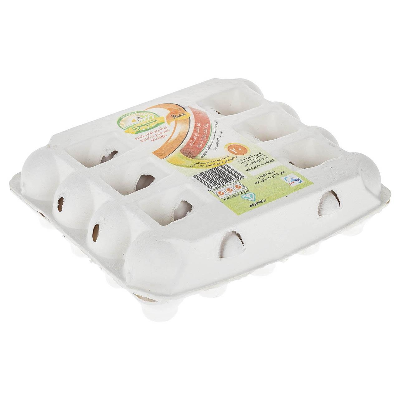 تخم مرغ سیمرغ بسته 20 عددی