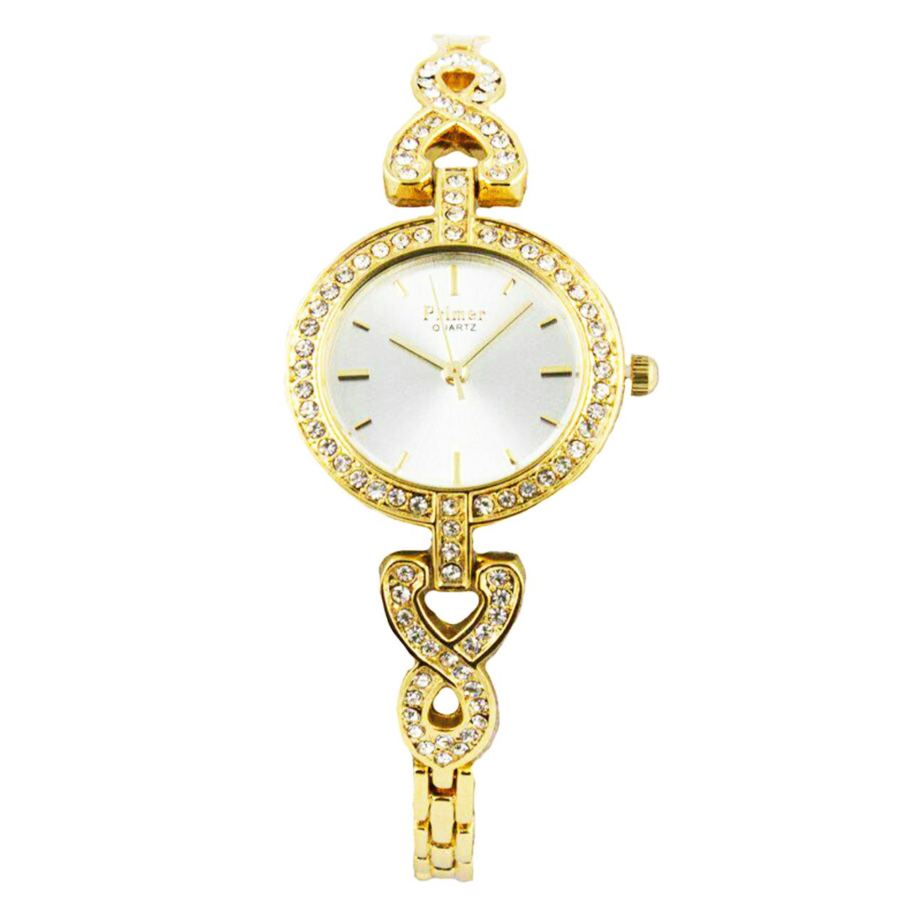 ساعت مچی عقربه ای زنانه پرایمر مدل PW-5049-g-white              خرید (⭐️⭐️⭐️)