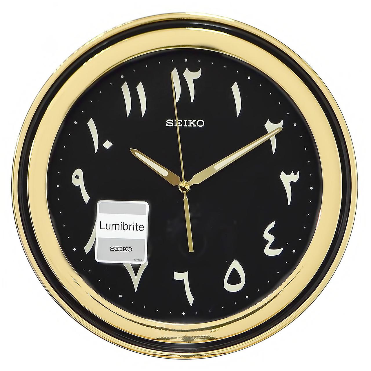 خرید ساعت دیواری سیکو مدل QXA578T | ساعت مچی