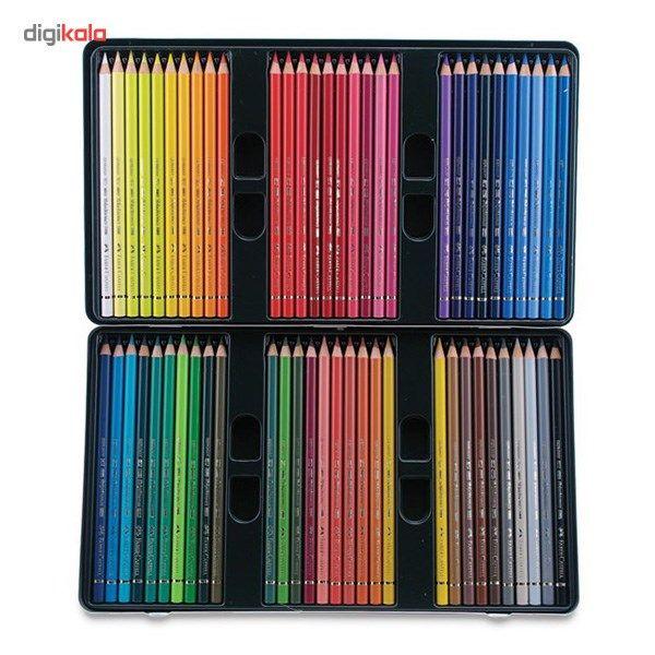 مداد رنگی 60 رنگ فابر-کاستل مدل Polychromos main 1 4