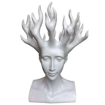 مجسمه فانتزی گلدان مدل 185