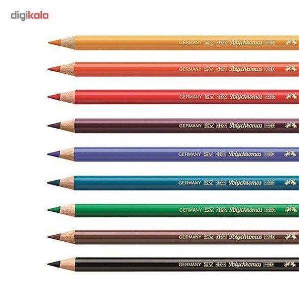 مداد رنگی 60 رنگ فابر-کاستل مدل Polychromos main 1 5