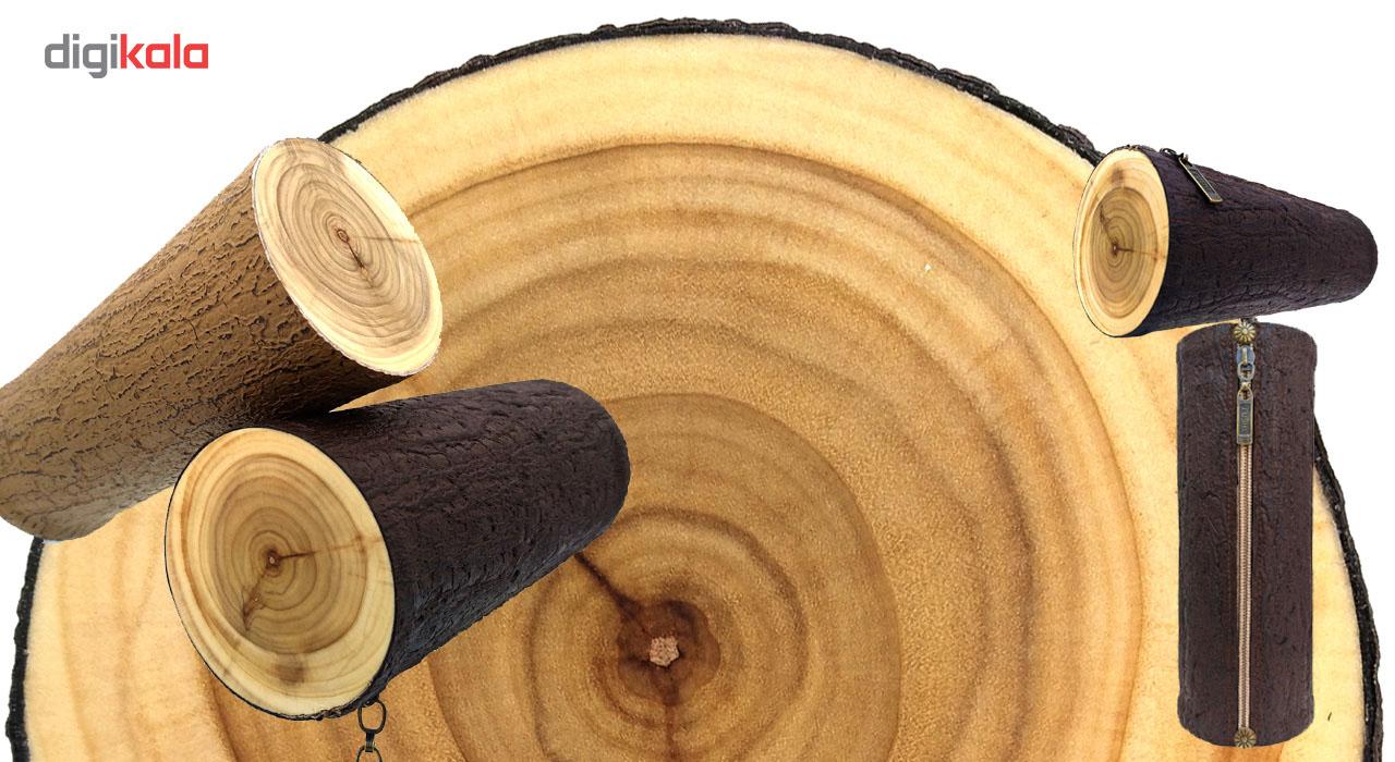 جامدادی آواک طرح کنده درخت مدل 1022