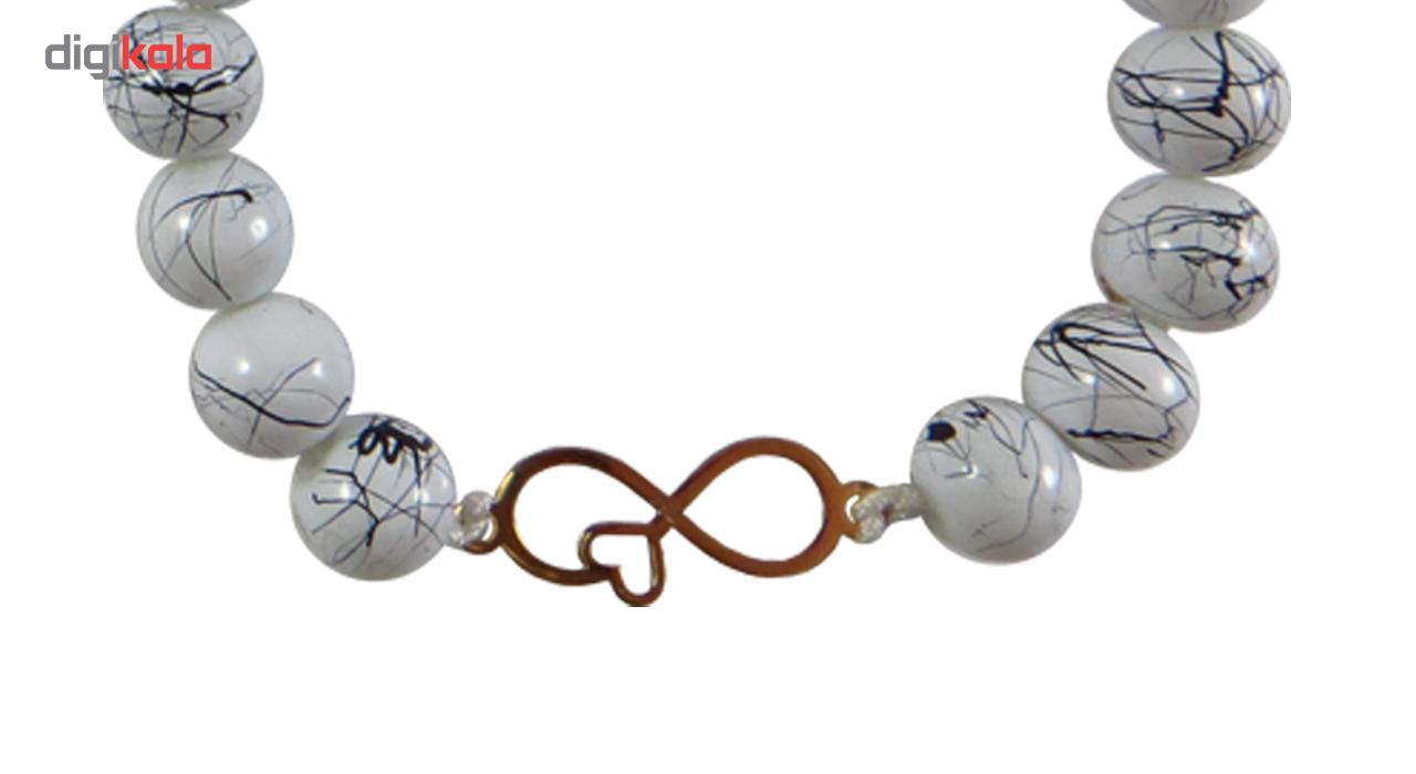 دستبند زنانه طلا 18 عیار نوین زر مدل NZ-764-S