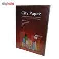 کاغذ رنگی A4 سیتی پیپر 13 رنگ  کد 1013بسته 104 برگی سایز 104 برگ thumb 2