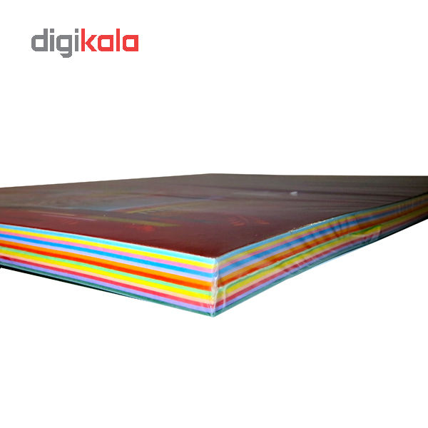 کاغذ رنگی A4 سیتی پیپر 13 رنگ  کد 1013بسته 104 برگی سایز 104 برگ main 1 3