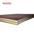 کاغذ رنگی A4 سیتی پیپر 13 رنگ  کد 1013بسته 104 برگی سایز 104 برگ thumb 3