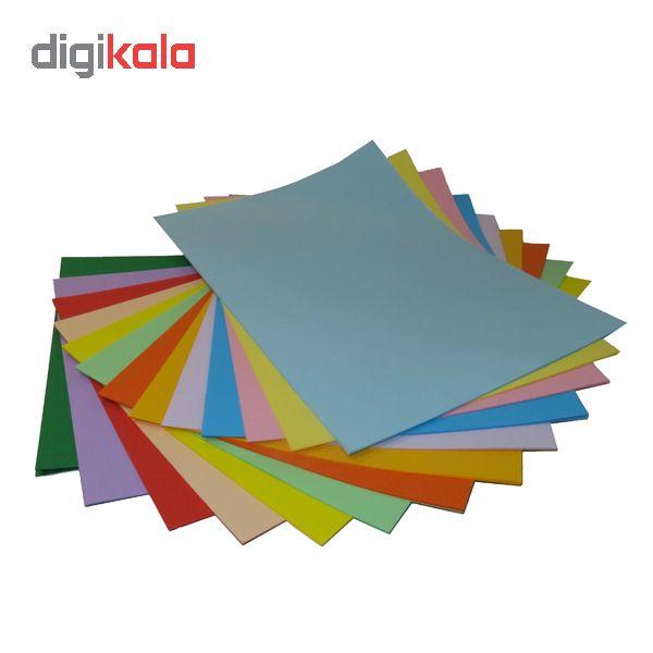 کاغذ رنگی A4 سیتی پیپر 13 رنگ  کد 1013بسته 104 برگی سایز 104 برگ main 1 1