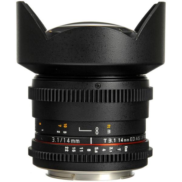 لنز سامیانگ مدل 14mm T/3.1 As IF UMC VDSLR