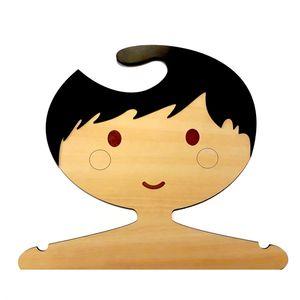 چوب لباسی کودک طرح عروسکی مدل A2 تک عددی