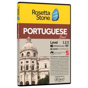 نرم افزار آموزش زبان پرتغالی رزتااستون نسخه 5 انتشارات نرم افزاری افرند